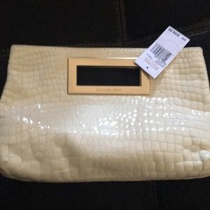 Michael Kors authentic clutch genuine leather